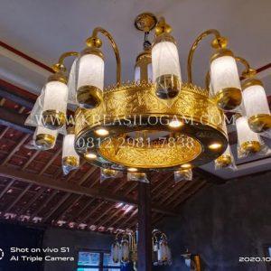 LAmpu Masjid diameter 150 cm