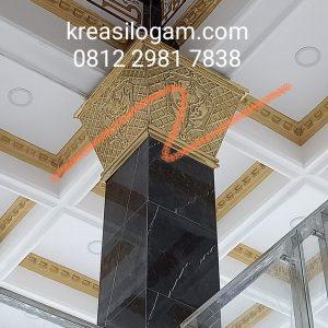 ornamen pilar masjid